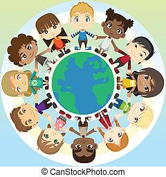 unité, enfants