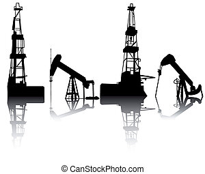 unités, huile, récupération