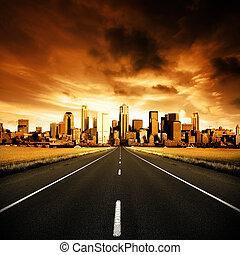 urbain, autoroute