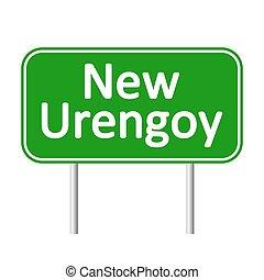urengoy, nouveau, signe., route