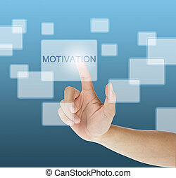 urgent, touchscreen, motivation, main, bouton