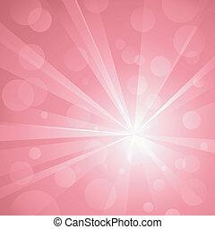 usage, points, explosion, linéaire, pink., non, nuances, résumé, global, fond, lumière, frappant, groupé, colors., transparencies., radial, typon, brillant, layered., gradients