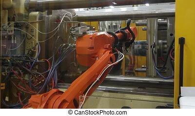 usine, bras robotique