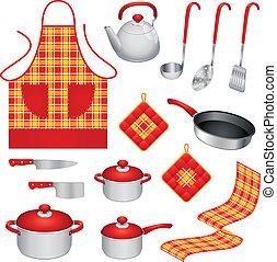 ustensiles, cuisine