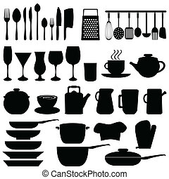 ustensiles, objets, cuisine