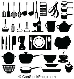 ustensiles, outils, cuisine