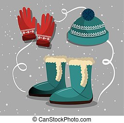 usure, hiver, mode, accesories