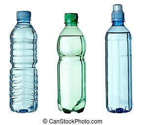 utilisé, environnement, écologie, bouteille, déchets ménagers, vide