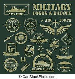 véhicules militaires, blindé, logos