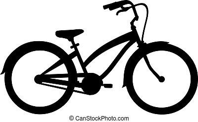 vélo, croiseur