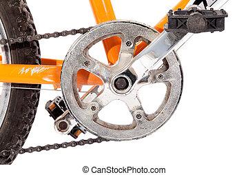 vélo, engrenage