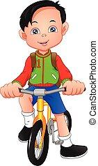 vélo, garçon