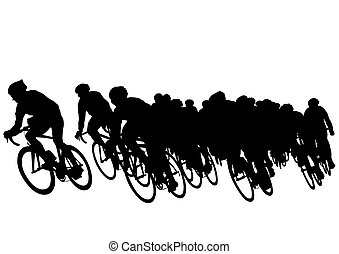 vélo, groupe