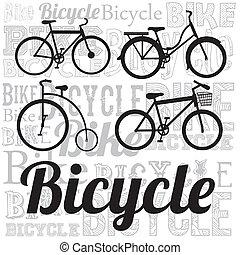vélo, illustration