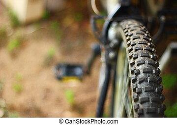 vélo tout terrain, roue