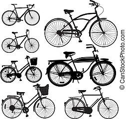 vélo, vecteur