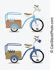 vélo, vendange