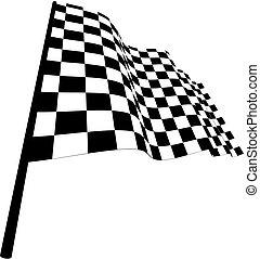 vérifié, drapeaux