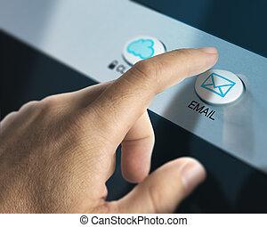vérification, email