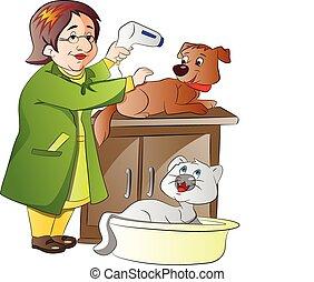 vétérinaire, illustration