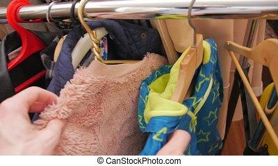 vêtements, trotteuse