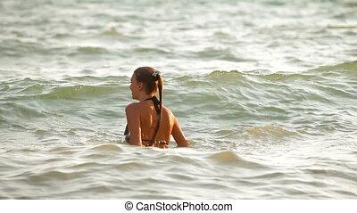 vacances été, plage