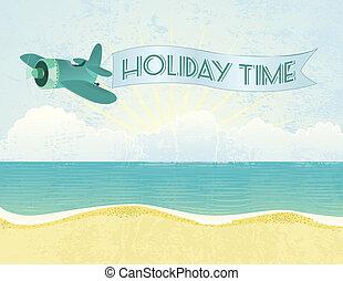 vacances, temps