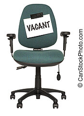 vacant, siège