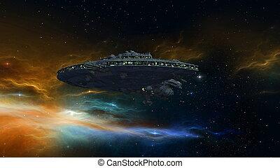 vaisseau spatial