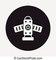 vaisseau spatial, icône