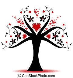 valentin, arbre