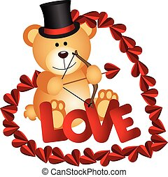 valentin, ours, teddy