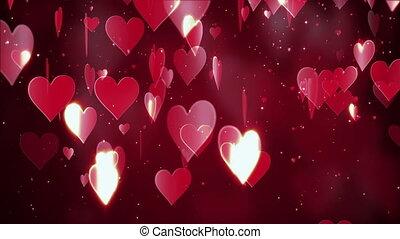 valentine, fond, résumé, jour