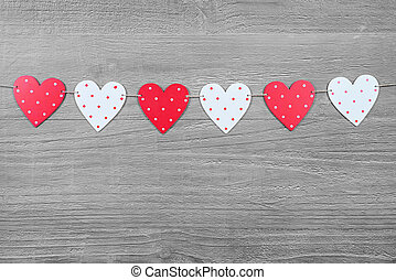 valentines, symboles, jour