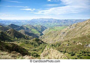 vallée, de, europa, picos