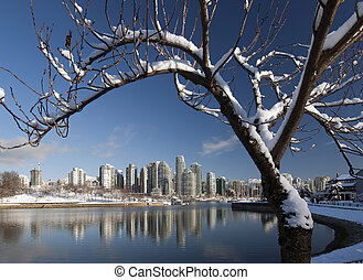 vancouver, hiver