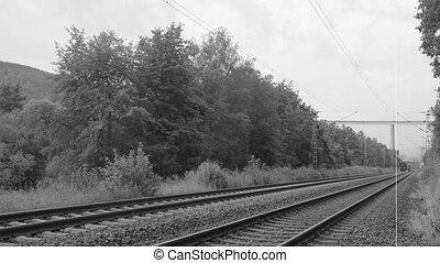vapeur, historique, train