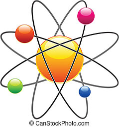 vecteur, atome