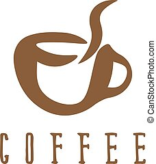 vecteur, café, concept, illustration, tasse