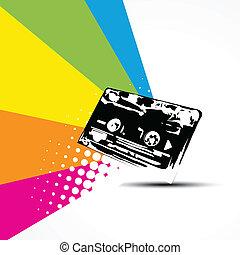 vecteur, cassette