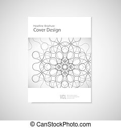vecteur, figure., concept abstrait