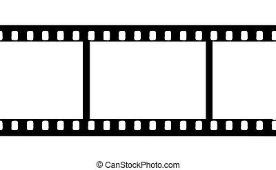 vecteur, film appareil-photo