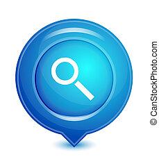 vecteur, indicateur, emplacement, icône