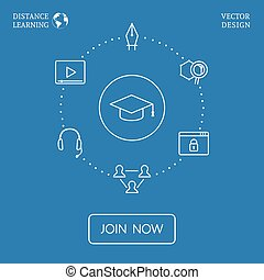 vecteur, infographic, education
