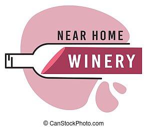 vecteur, liquide, text., vin, style, eclabousse, beverages., alcool, bouteille, apprécier, alcoolique, plat, saveur, dégustation