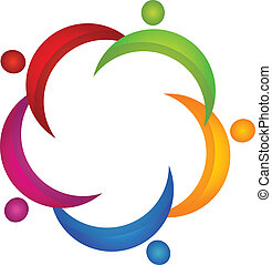 vecteur, logo, unionteam