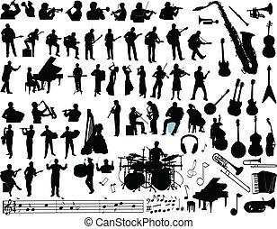 vecteur, musique
