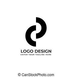vecteur, résumé, logo