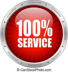 vecteur, service, icône