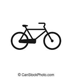 vecteur, vélo, illustration, icône
